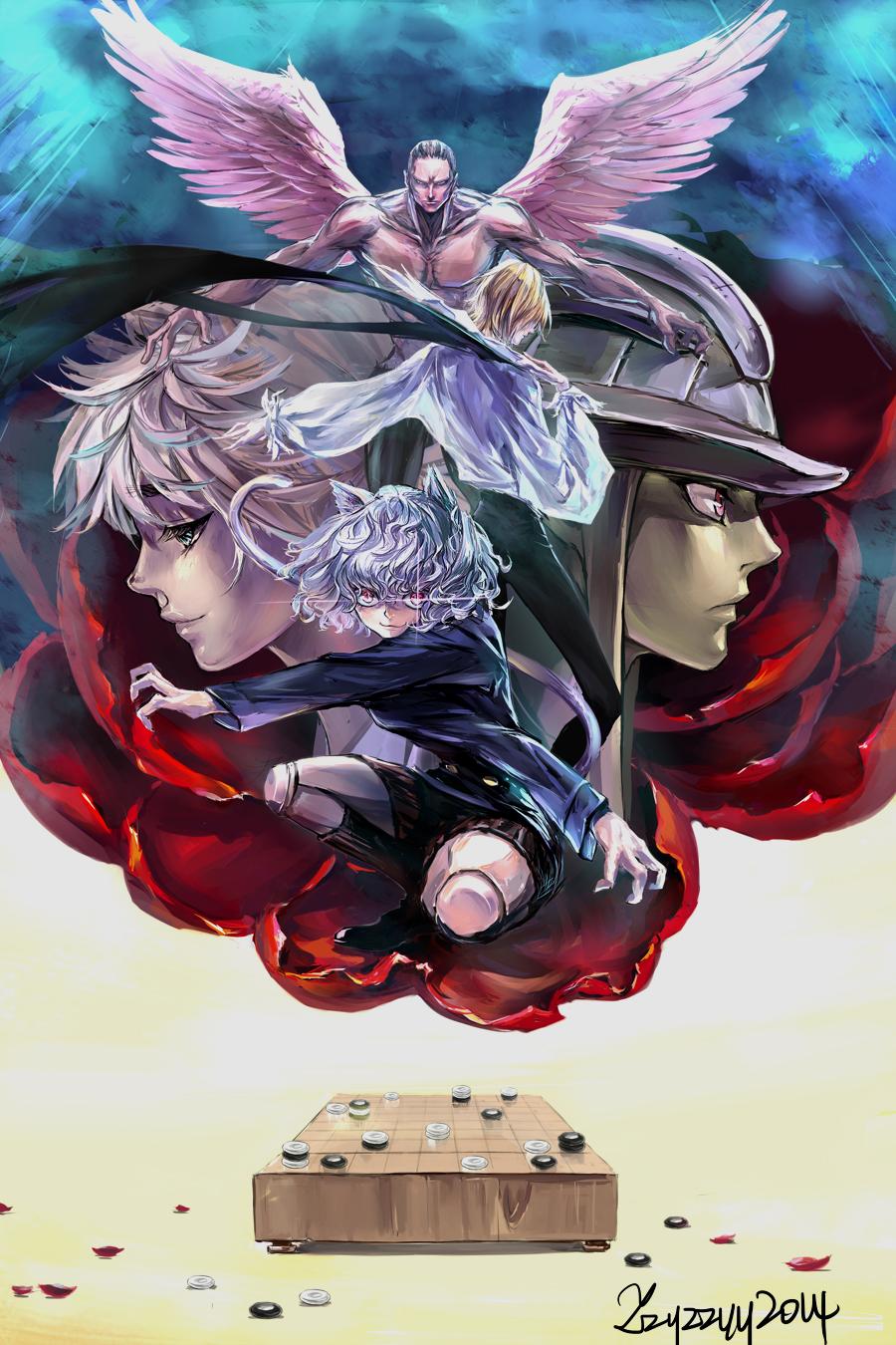 Royal Guards Hunter X Hunter Zerochan Anime Image Board