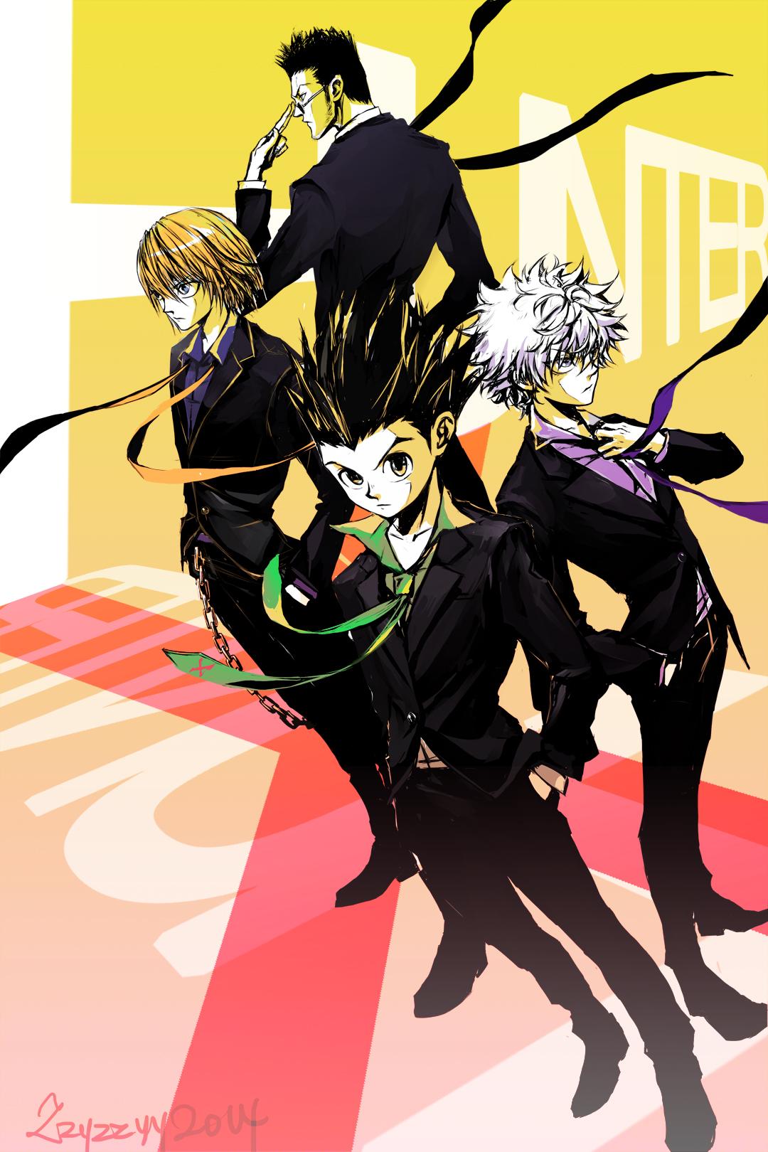 Hunter X Hunter Mobile Wallpaper 1761218 Zerochan Anime Image Board