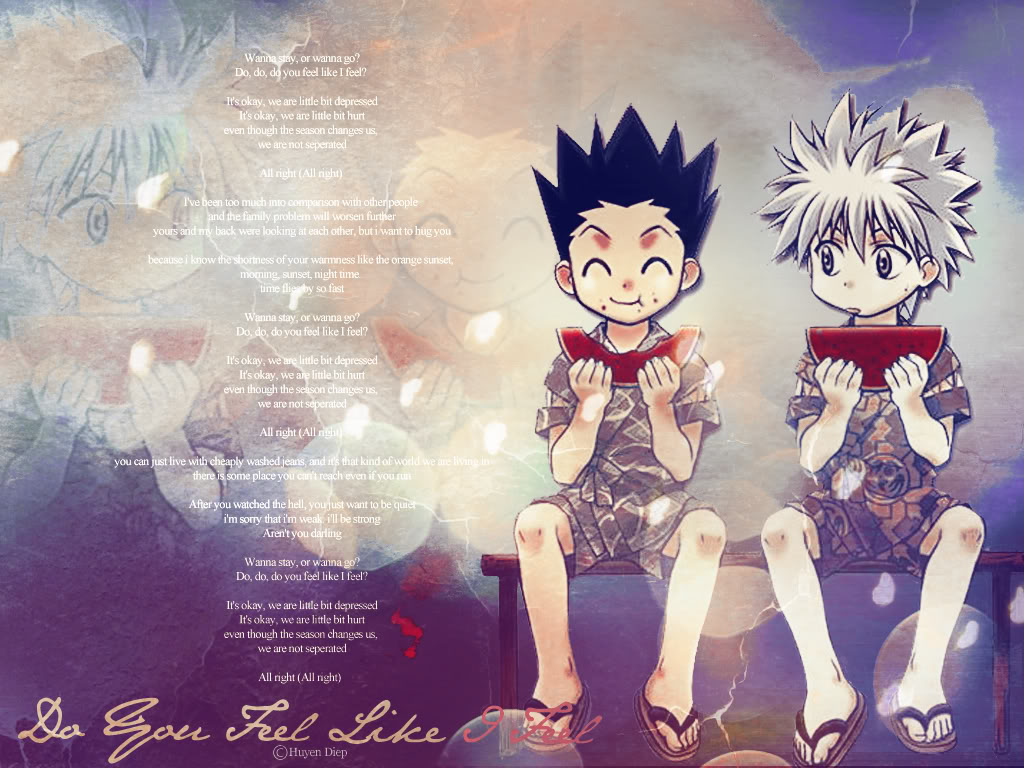 Free Wallpaper Anime Wallpaper Hd Hunter X Hunter