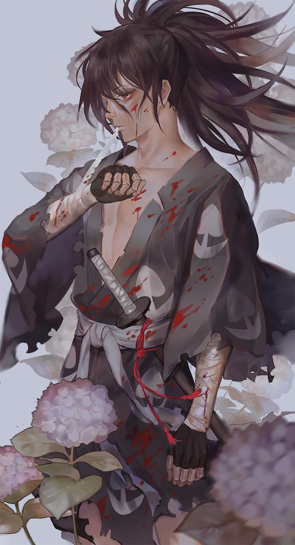 Tags: Anime, Pixiv Id 1180641, Dororo (Manga), Hyakkimaru (Dororo), Fanart From Pixiv, Pixiv, Fanart
