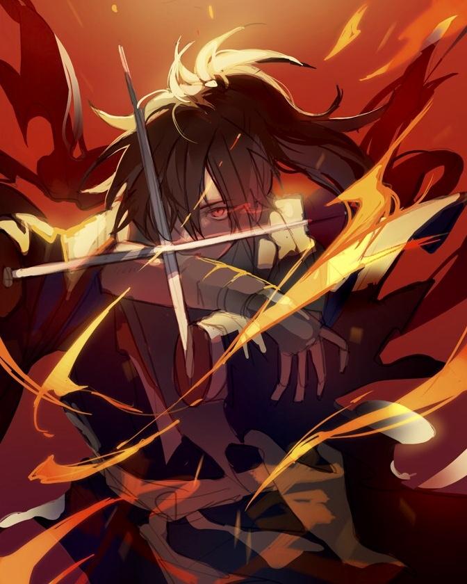 Tags: Anime, Pixiv Id 10337288, Dororo (Manga), Hyakkimaru (Dororo), Pixiv, Fanart, Fanart From Pixiv