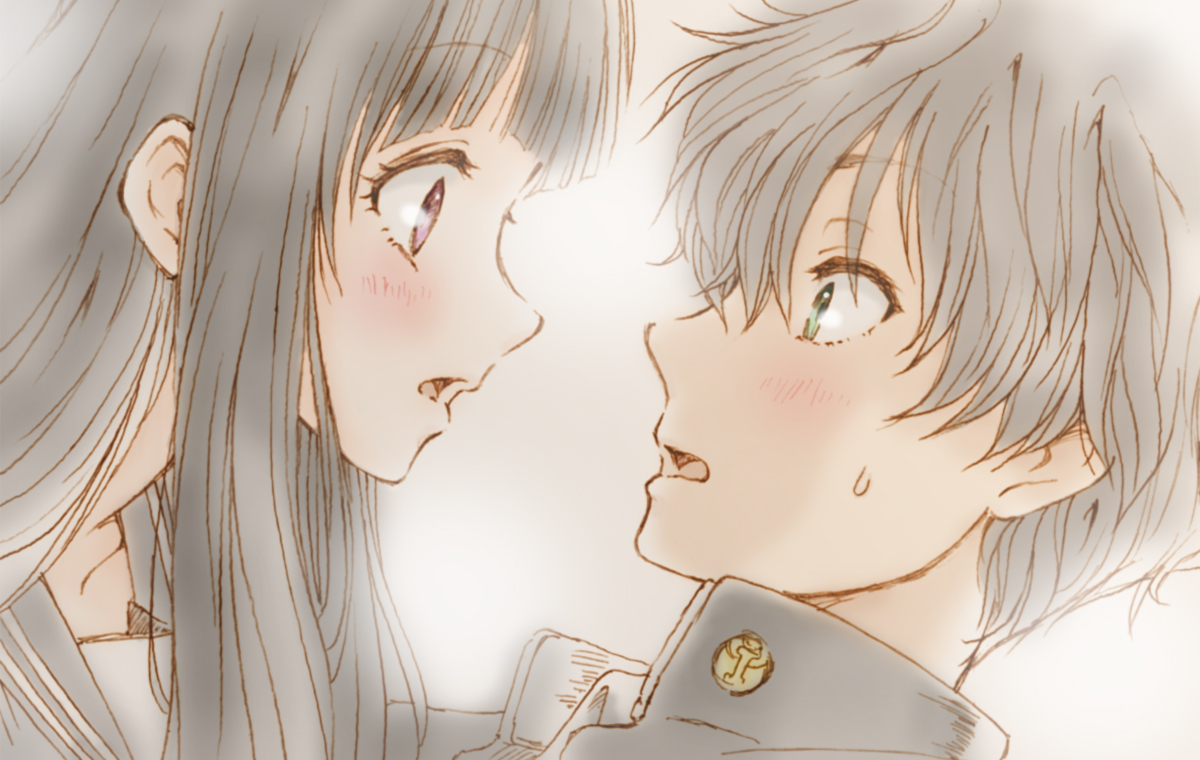 hyouka chitanda and oreki kiss wwwpixsharkcom images