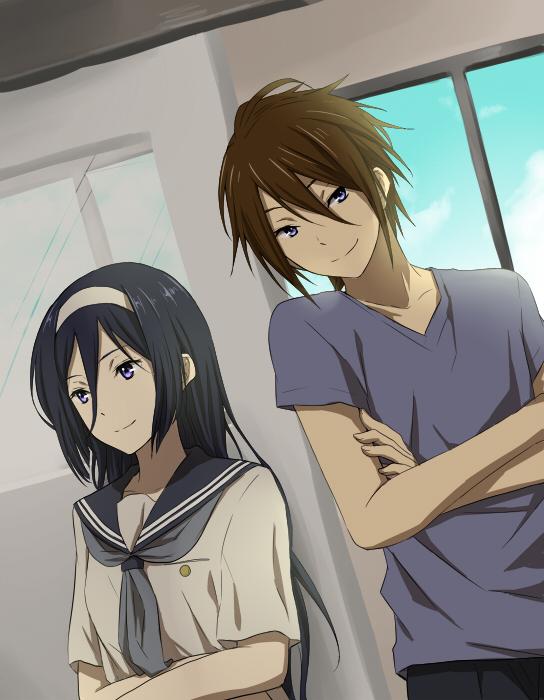 Tags: Anime, Rito, Hyouka, Irisu Fuyumi, Tohgaito Masashi