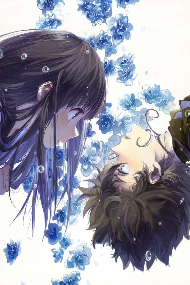 Hyouka Mobile Wallpaper Zerochan Anime Image Board