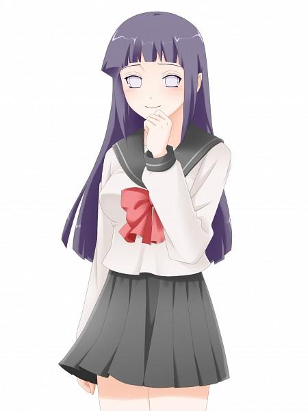 Tags: Anime, Pixiv Id 1045921, NARUTO, Hyuuga Hinata, Hime Cut, White Eyes, Byakugan