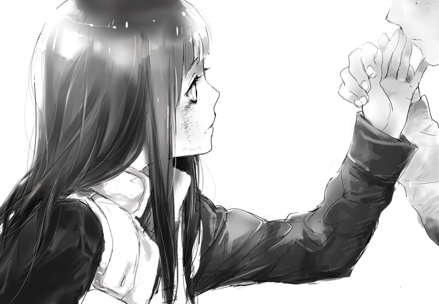 Картинки аниме девушка умирает и плачет