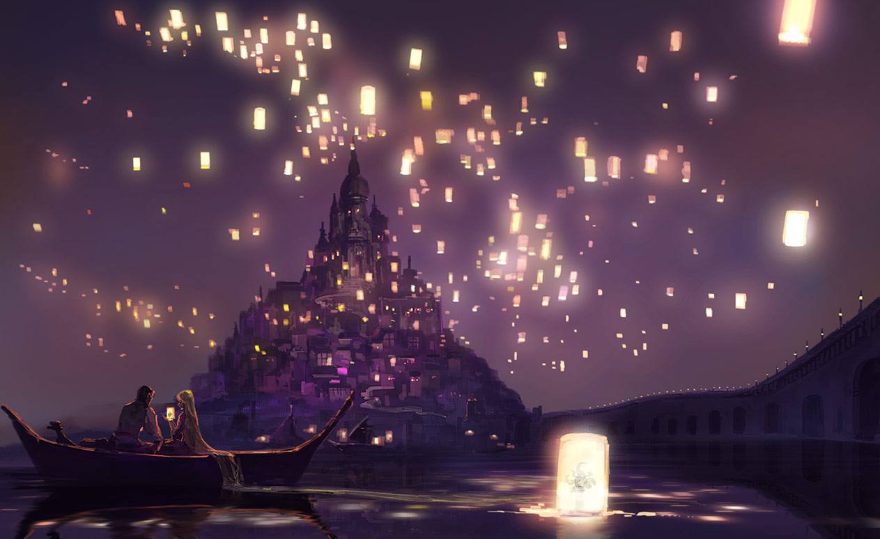 Sky Lanterns - Paper Lantern - Zerochan Anime Image Board for Sky Lanterns Wallpaper Tangled  181obs