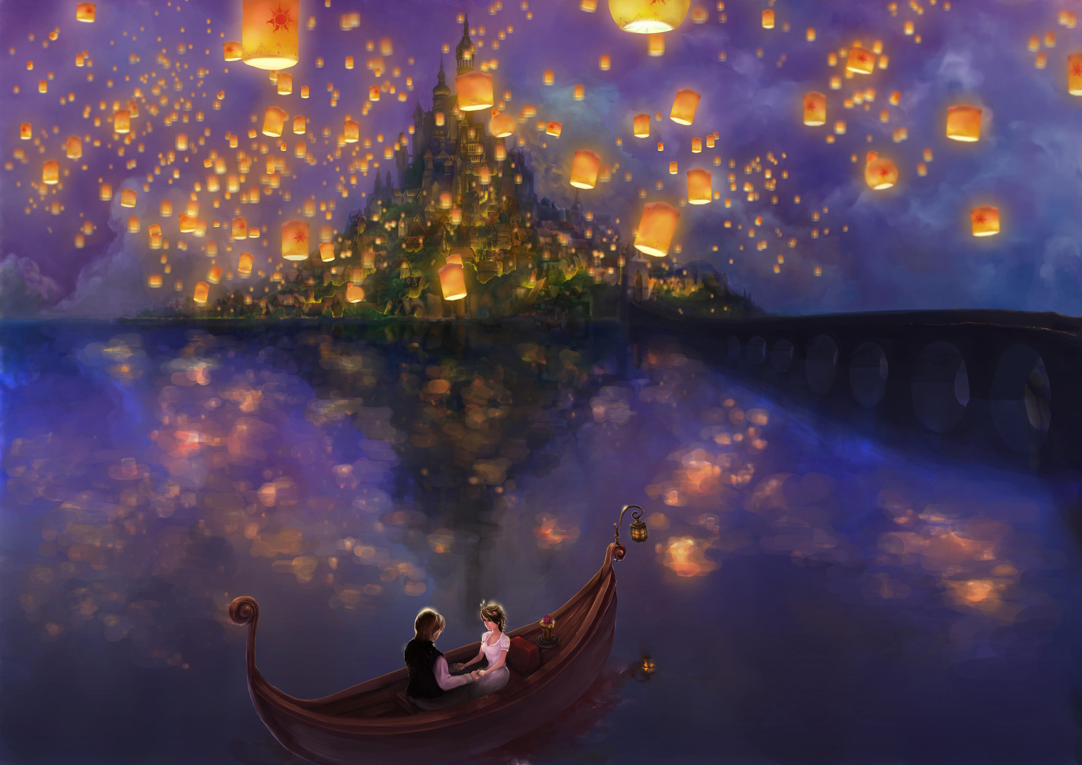 I See The Light - Tangled (Disney) - Image #552814 - Zerochan Anime ... for Sky Lanterns Rapunzel  568zmd