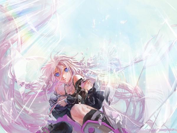 Tags: Anime, Ymkw, Vocaloid, IA, flotantes de pelo, pluma, vidrios rotos