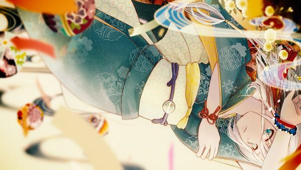 Tags: Anime, Hie, Vocaloid, IA, Falling, Obi, de pantalla ancha 16: 9