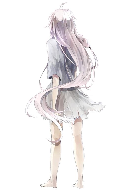 Грусть аниме девушка 3