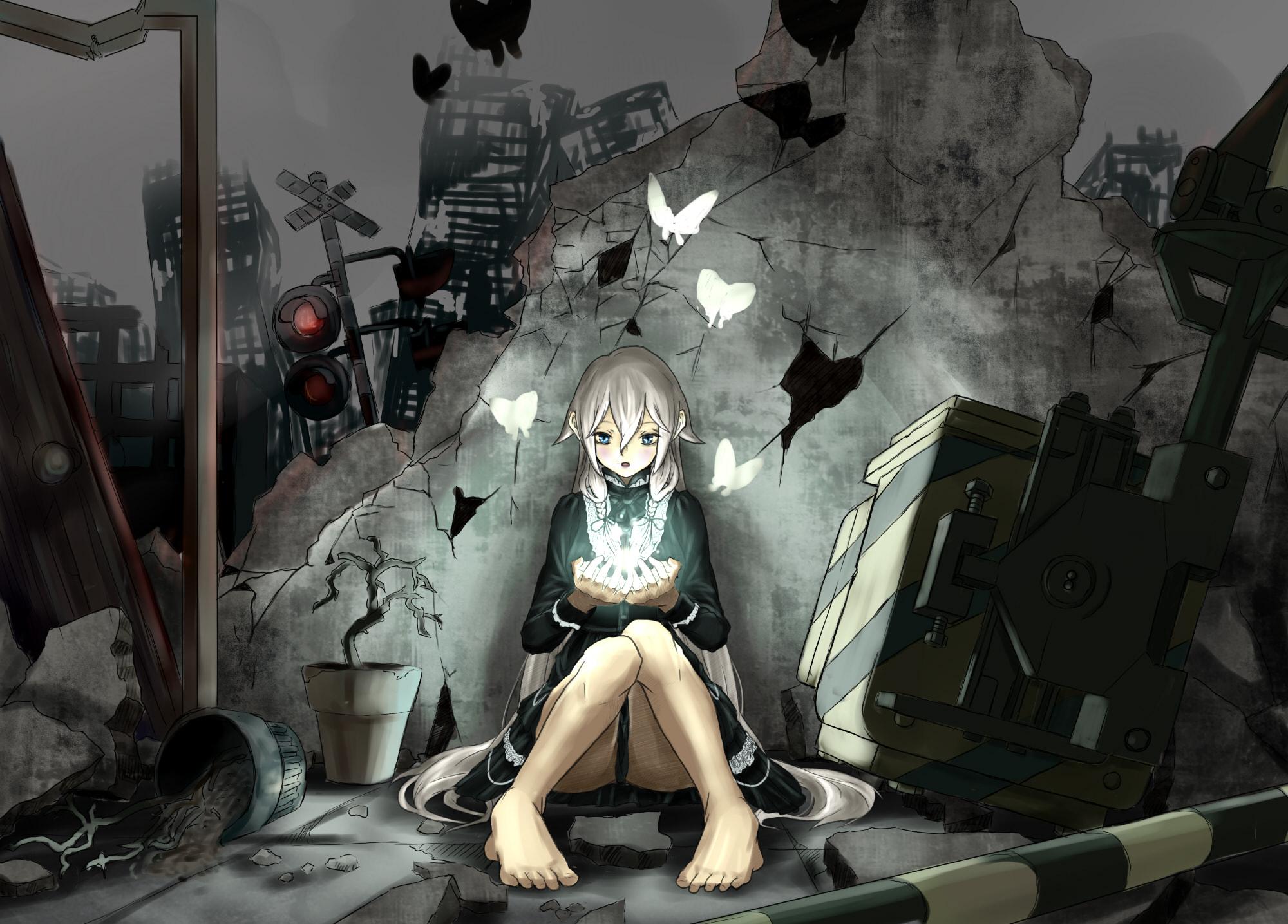 Зомби апокалипсис аниме картинки