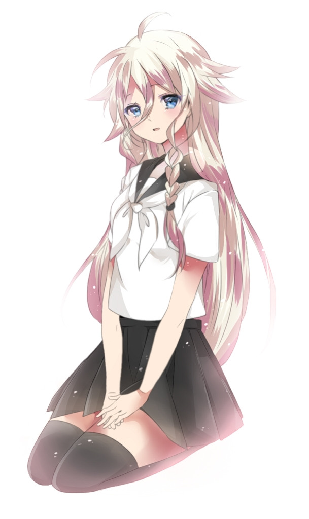 Tags: Anime, Pixiv Id 4355751, VOCALOID, IA, Mobile Wallpaper