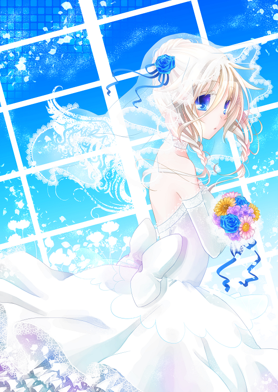 Bouquet, Wedding Dress | page 9 - Zerochan Anime Image Board