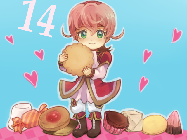Tags: Anime, Pixiv Id 181399, Yu-Gi-Oh! ZEXAL, Yu-Gi-Oh!, III (Yu-Gi-Oh! ZEXAL), Red Outerwear, Holding Food