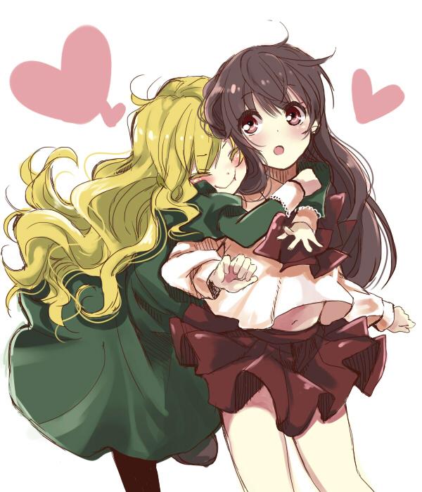 Surprise Hug - Zerochan Anime Image Board