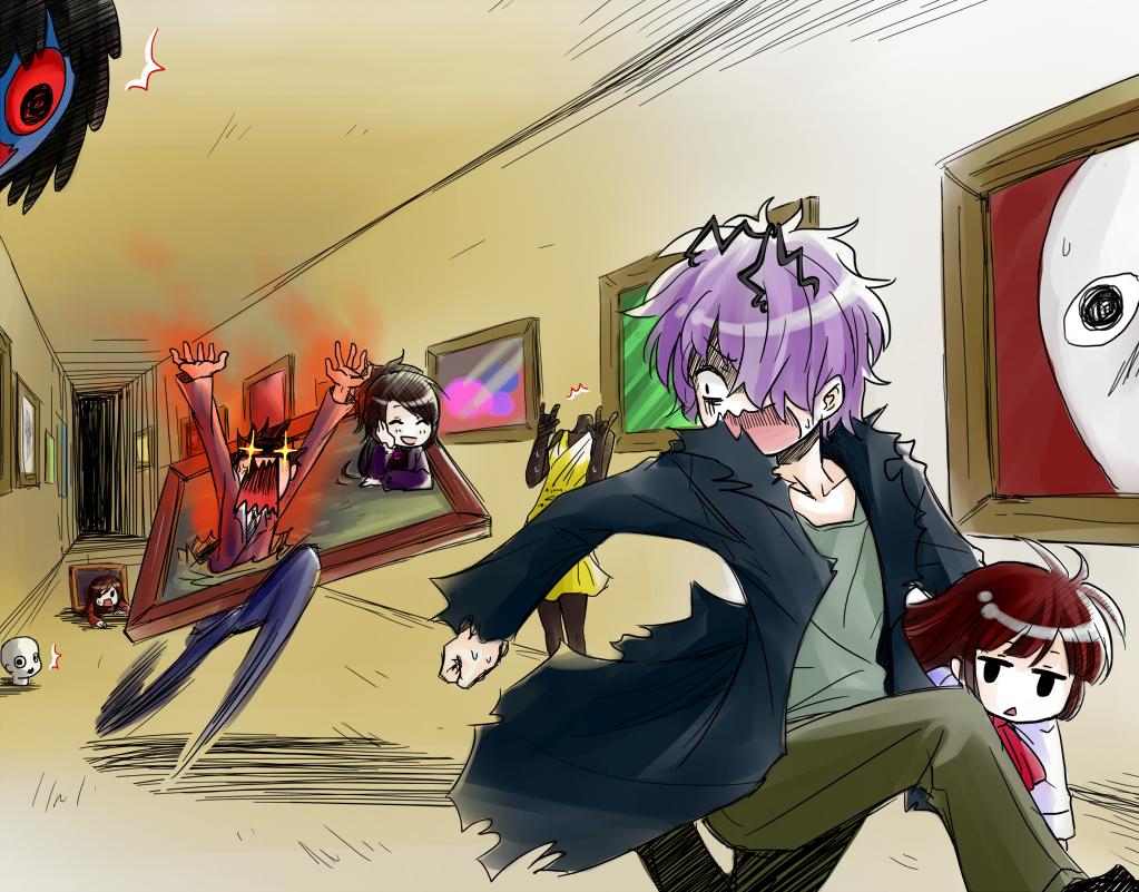 Ib fanart zerochan anime image board - Fanart anime wallpaper ...
