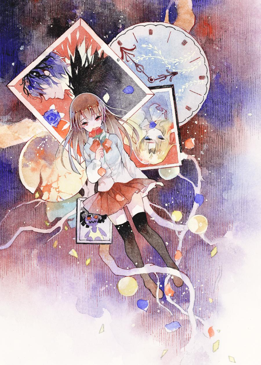 Tags: Anime, Pixiv Id 4656825, Ib, Garry, Blue Doll, Mary
