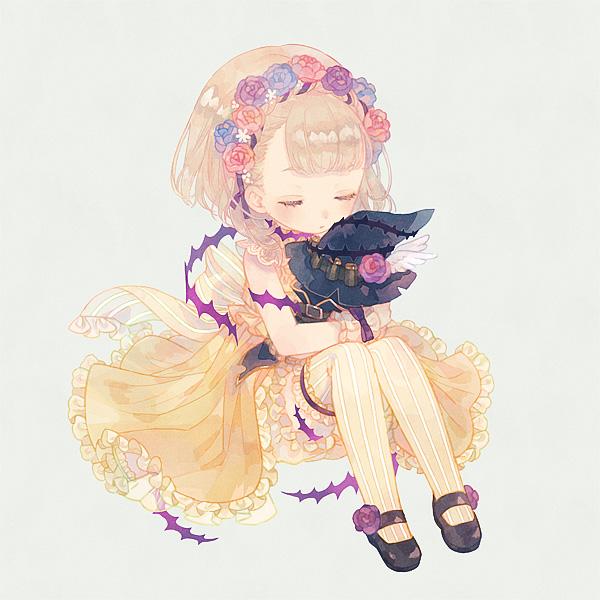 Tags: Anime, Pixiv Id 27995436, SINoALICE, Ibarahime (SINoALICE), Pixiv, Fanart, Fanart From Pixiv, Sleeping Beauty (sinoalice)