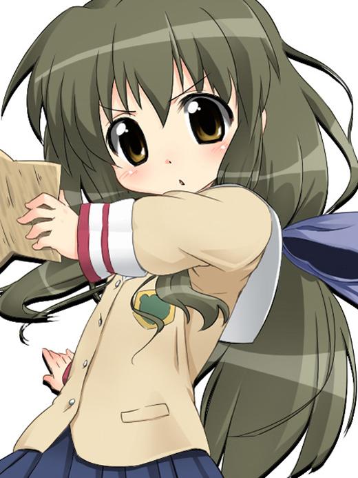 Tags: Anime, Aikei, CLANNAD, Ibuki Fuko, Fanart