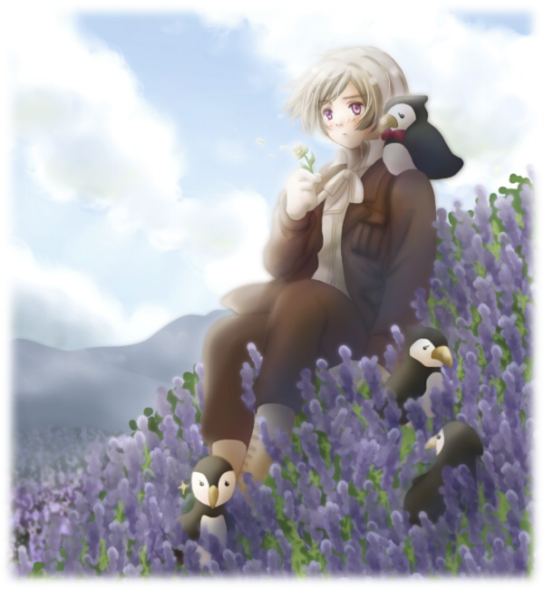 Tags: Anime, Pixiv Id 1401121, Axis Powers: Hetalia, Mr. Puffin, Iceland, Puffin, Nordic Countries