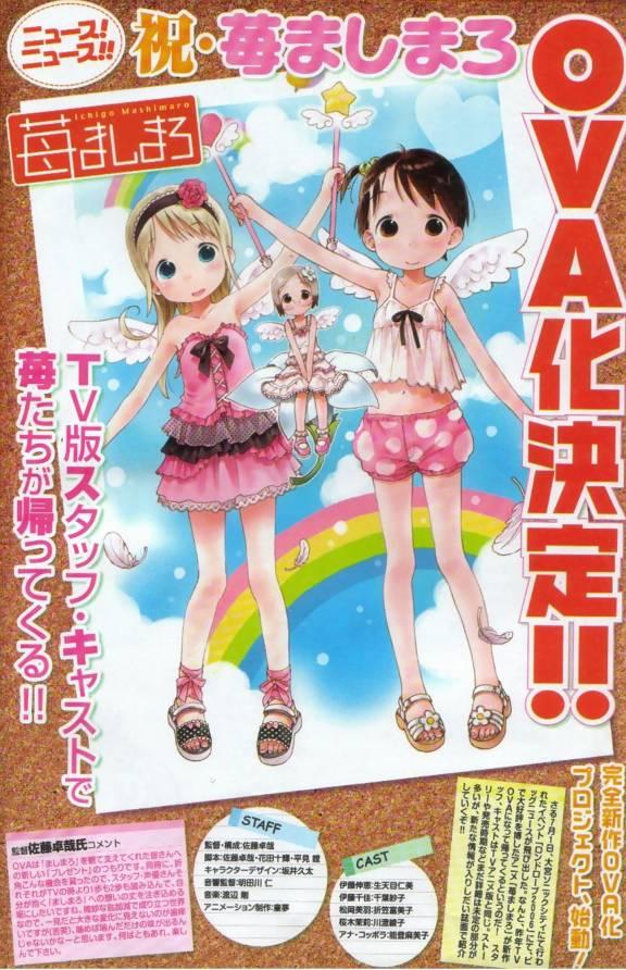 Tags: Anime, Ichigo Mashimaro, Ana Coppola, Itoh Chika, Sakuragi Matsuri, Official Art, Strawberry Marshmallow
