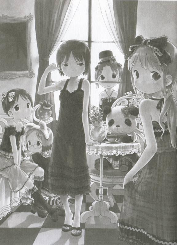 Tags: Anime, Ichigo Mashimaro, Matsuoka Miu, Sakuragi Matsuri, Itoh Nobue, Ana Coppola, Itoh Chika, Official Art, Strawberry Marshmallow