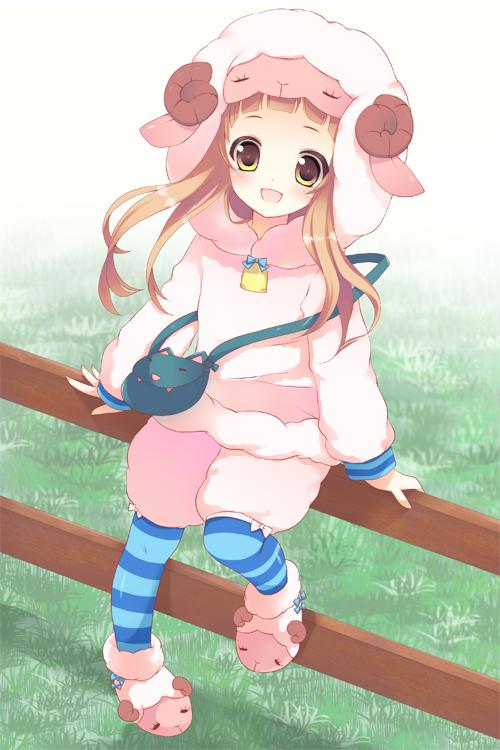 Картинки овечка аниме