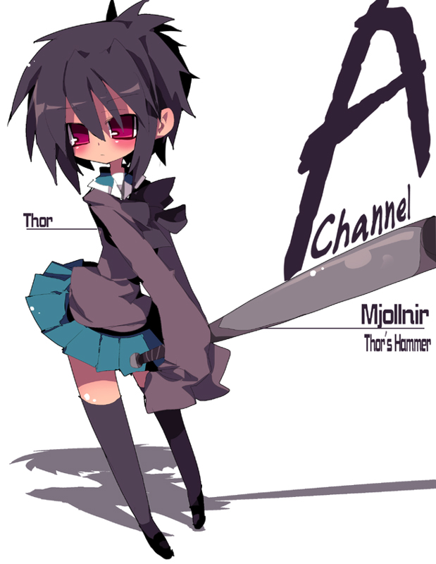 Tags: Anime, Dango Mushi, A Channel, Ichii Tooru, Baseball