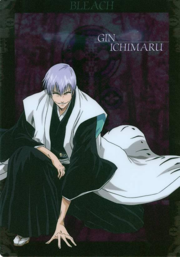 Tags: Anime, Kubo Tite, BLEACH, Ichimaru Gin, Mobile Wallpaper, Official Art, Gotei 13