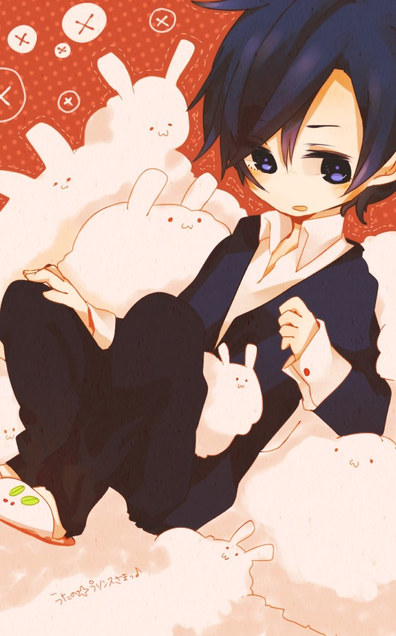 Tags: Anime, Pixiv Id 452970, Uta no☆prince-sama♪, Ichinose Tokiya, Pixiv, Mobile Wallpaper, Fanart