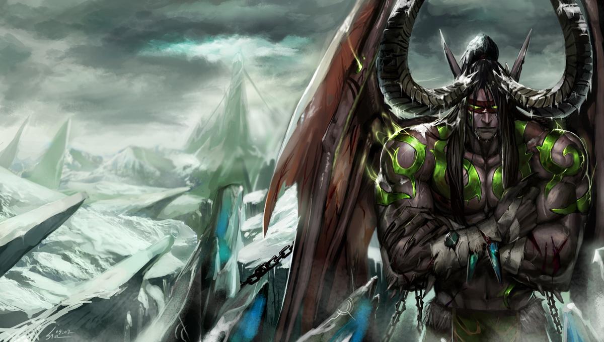 Illidan Stormrage - Warcraft - Zerochan Anime Image Board