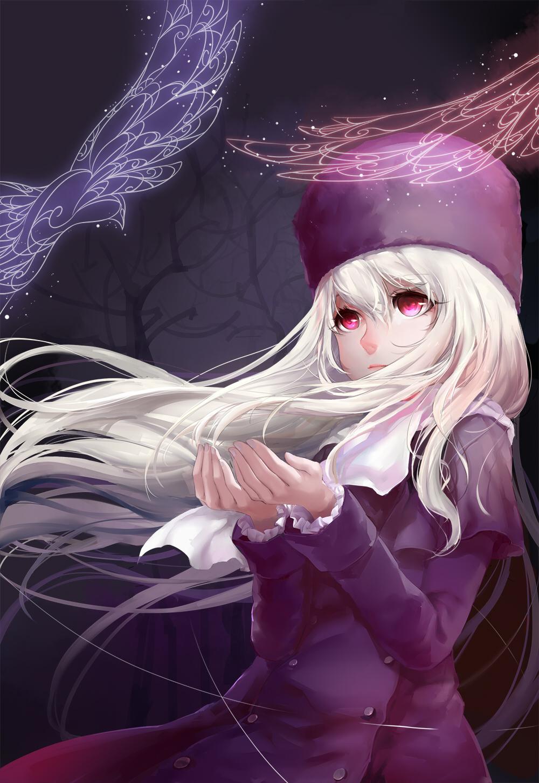 The holy grail albino girl - 3 2