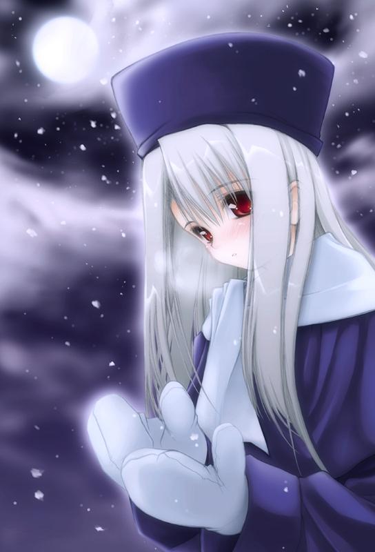 Tags: Anime, Fate/stay night, Illyasviel von Einzbern, Mobile Wallpaper