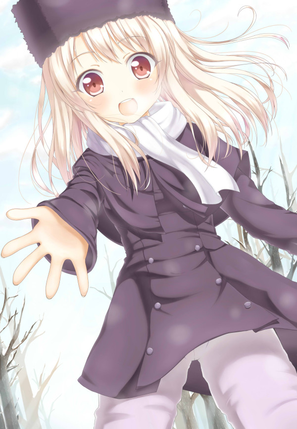 Tags: Anime, Zazazazazazawa, TYPE-MOON, Fate/stay night, Illyasviel von Einzbern, Mobile Wallpaper, Fanart, Pixiv
