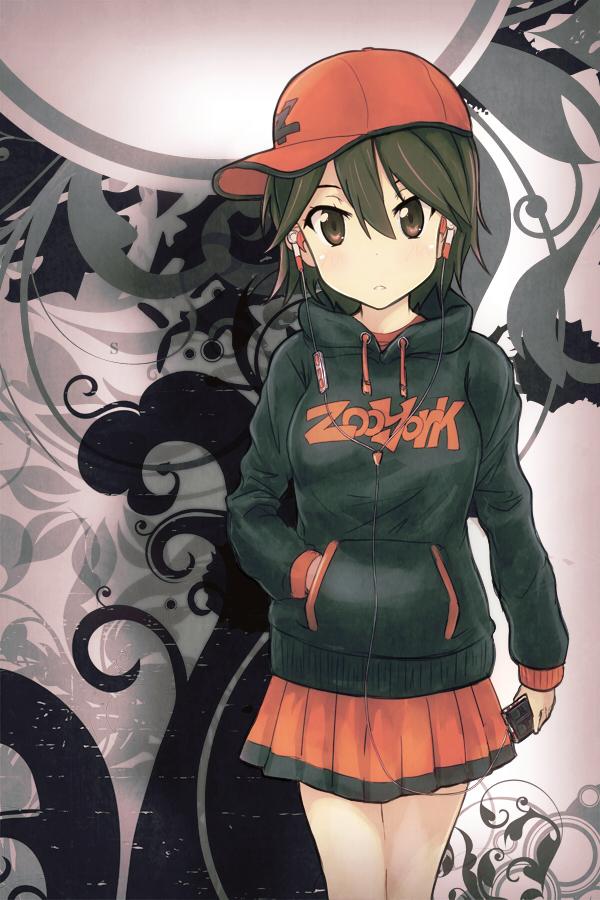 Tags: Anime, Drpow, Kokoro Connect, Inaba Himeko, Mobile Wallpaper