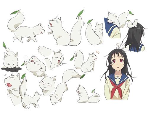 Tags: Anime, Takashina Yuka, Production IMS, Inari Konkon Koi Iroha, Kon (Inari Konkon Koi Iroha), Fushimi Inari, Cover Image, Official Art, Character Sheet