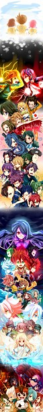 Tags: Anime, Inazume-panko, Inazuma Eleven, Inazuma Eleven GO, Zaizen Touko, Endou Mamoru, Urupa Rococo