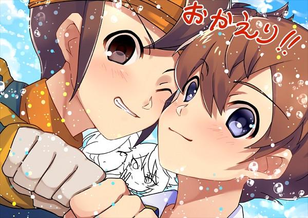Tags: Anime, Pixiv Id 891317, Inazuma Eleven, Inazuma Eleven: Ares no Tenbin, Inazuma Eleven GO, Endou Mamoru, Haizaki Ryouhei