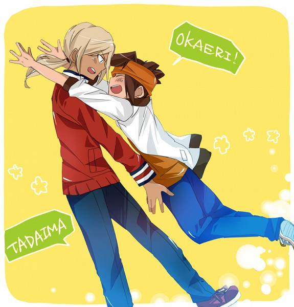 Tags: Anime, Pixiv Id 2154327, Level-5, Inazuma Eleven, Inazuma Eleven GO, Gouenji Shuuya, Endou Mamoru