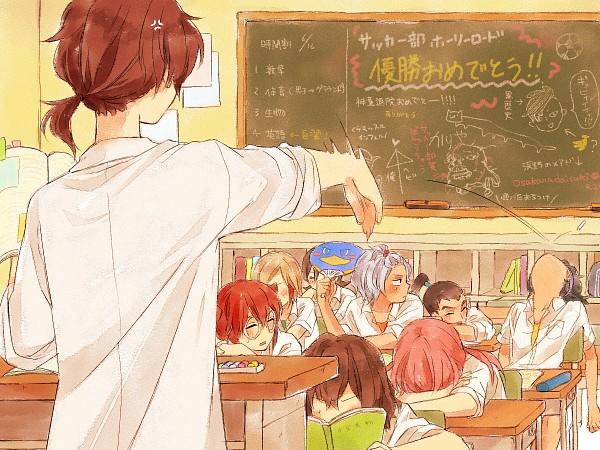 Tags: Anime, Yuzudaze, Inazuma Eleven GO, Kurama Norihito, Kirino Ranmaru, Nishiki Ryouma, Hayami Tsurumasa