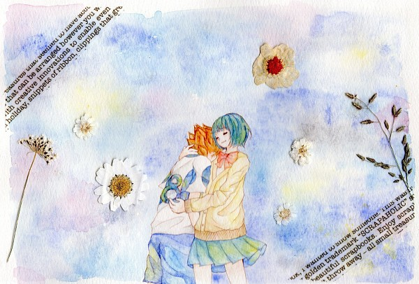 Tags: Anime, Sweater, Matsukaze Tenma, Inazuma Eleven GO, Sorano Aoi, Shinsei Inazuma Japan Uniform, Inazuma Eleven GO Galaxy