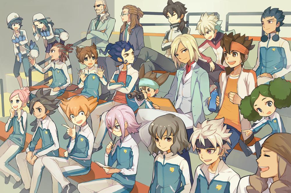 Inazuma eleven go galaxy image 1640668 zerochan anime image board - Inazuma eleven galaxy ...