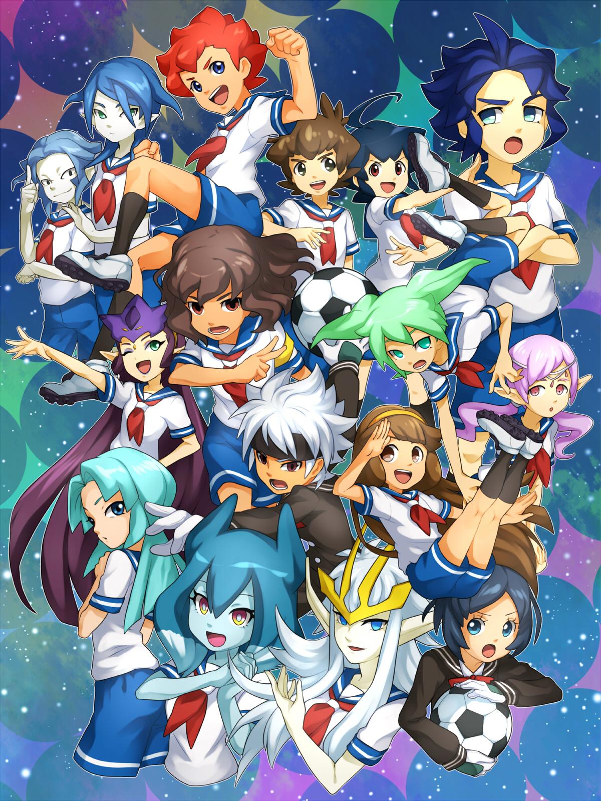 Inazuma eleven go galaxy image 1679763 zerochan anime image board - Inazuma eleven galaxy ...