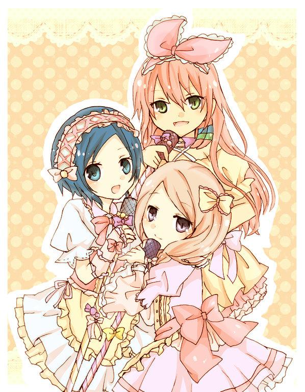Tags: Anime, Level-5, Petticoats, Inazuma Eleven GO, Sorano Aoi, Seto Midori, Yamana Akane