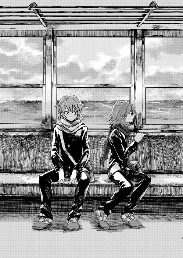Tags: Anime, Pixiv Id 435512, Level-5, Inazuma Eleven GO, Kariya Masaki, Kirino Ranmaru, Fanart