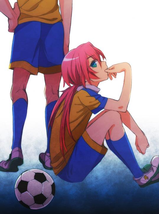Tags: Anime, Orishima Yupopo, Level-5, Inazuma Eleven, Inazuma Eleven GO, Kirino Ranmaru, Minamisawa Atsushi