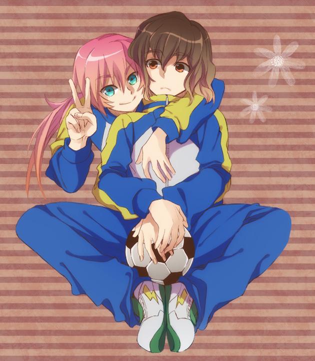 Tags: Anime, Orishima Yupopo, Inazuma Eleven GO, Inazuma Eleven, Kirino Ranmaru, Shindou Takuto