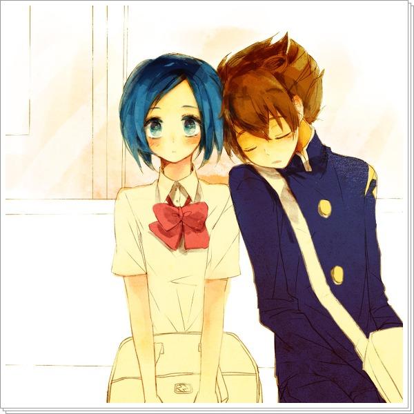 Tags: Anime, Inazuma Eleven, Level-5, Matsukaze Tenma, Inazuma Eleven GO, Sorano Aoi