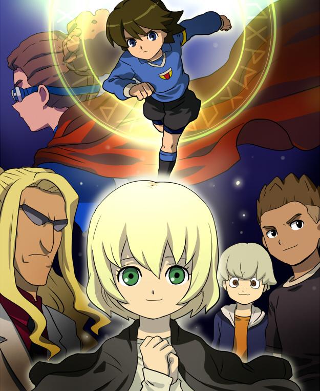 Tags: Anime, Mizuhara Aki, Inazuma Eleven, Kageyama Reiji, Mister K, Fidio Aldena, Luca (Inazuma Eleven), Hidetoshi Nakata, Kidou Yuuto, Rushe, Orpheus Italia Uniform, Fanart
